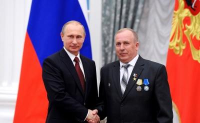 1 мая 2015 года. Пяти выдающимся согражданам вручены золотые медали «Герой Труда Российской Федерации»